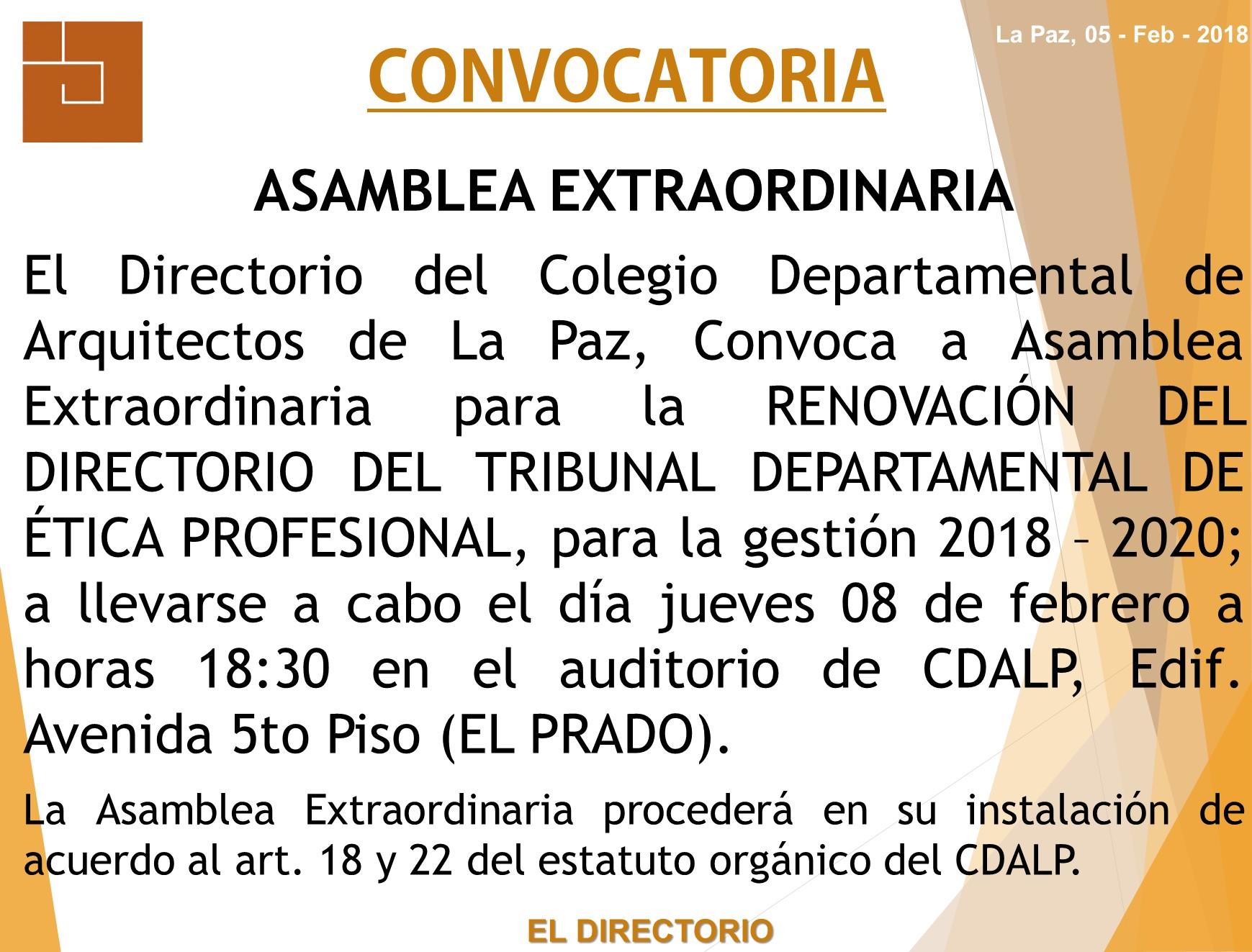 Colegio departamental de arquitectos de la paz cdalp for Bolsa de trabajo arquitecto